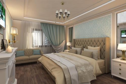 Сказочная спальня для молодой девушки