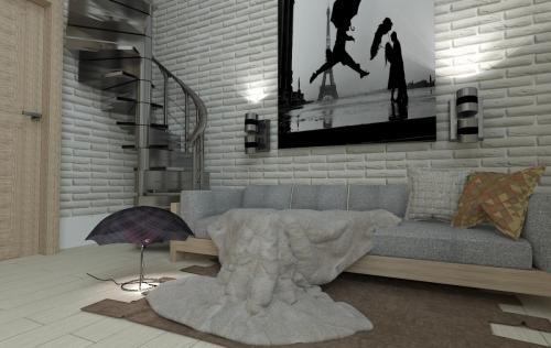 Просторный диван