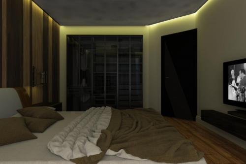 Спальня для современной семьи